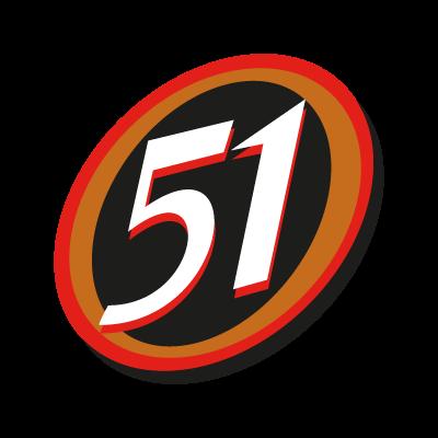 51 logo vector