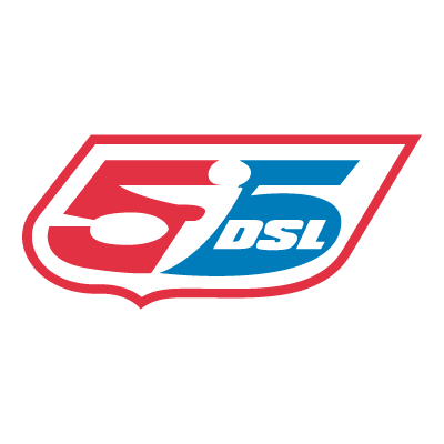 55 DSL vector logo