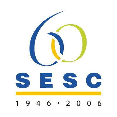 60 ANOS DO SESC vector logo