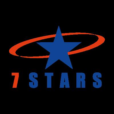 7 Stars logo vector
