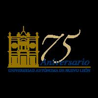 75 anos UANL vector logo