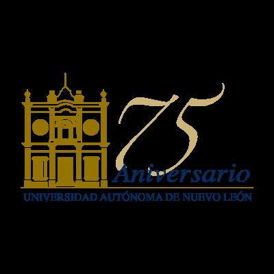 75 anos UANL logo vector