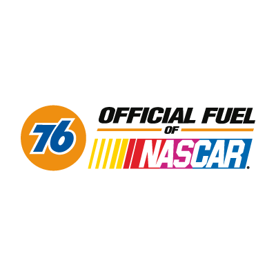 76 Official Fuel of NASCAR logo vector