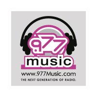 .977 music vector logo