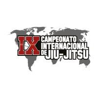 9th International Jiu-jitsu Championship vector logo