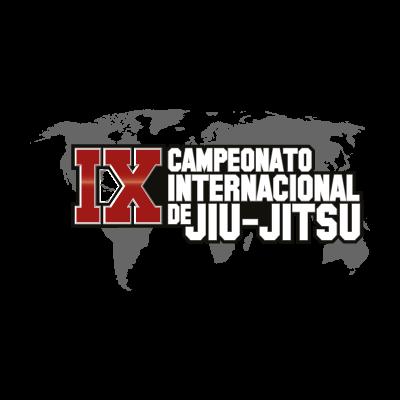 9th International Jiu-jitsu Championship logo vector