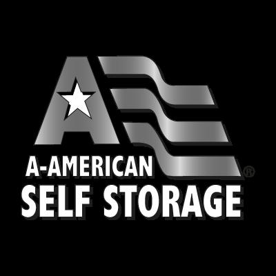 A American Self Storage logo vector