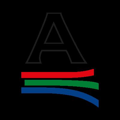 A Color logo vector