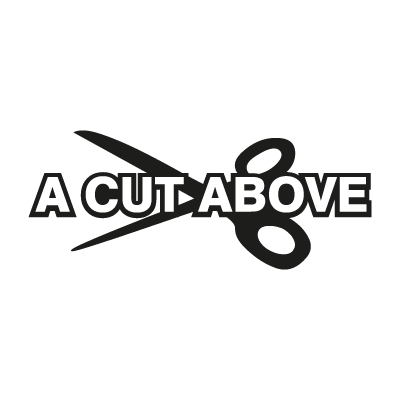 A Cut Above logo vector