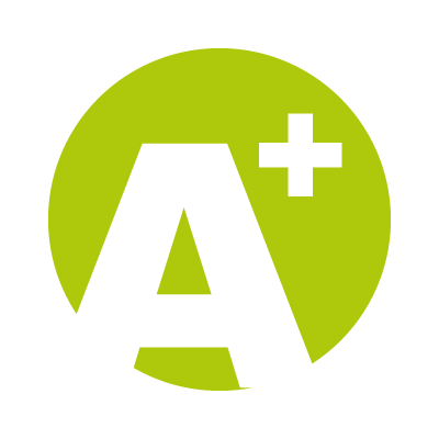 A Plus logo vector