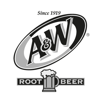 A&W Root Beer logo vector