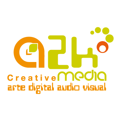 A2k creative media logo vector