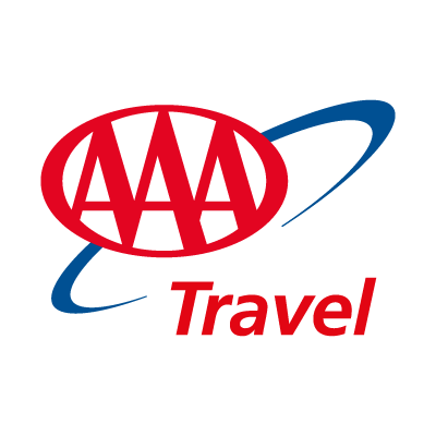 AAA Travel logo vector