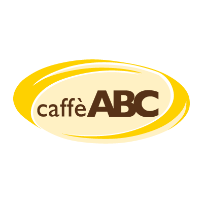 ABC caffe vector logo
