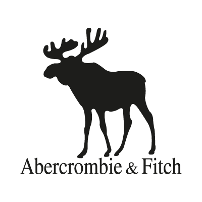 abercrombie and fitch black vector logo abercrombie and