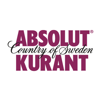 Absolut Kurant vector logo