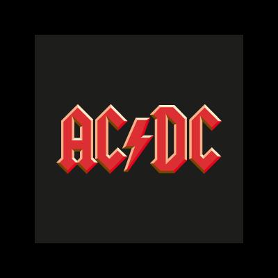 AC/DC Band logo vector