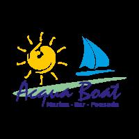 Acqua Boat vector logo