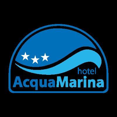 Acquamarina hotel logo vector
