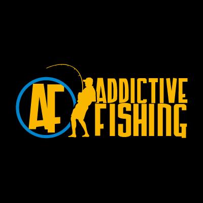 Addictive Fishing vector logo