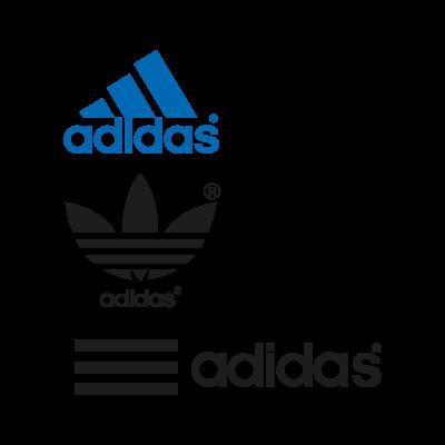 Adidas 3 logo vector