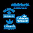 Adidas celebrate originality logo vector