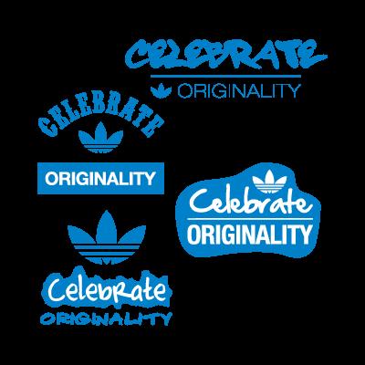 Adidas celebrate originality vector logo