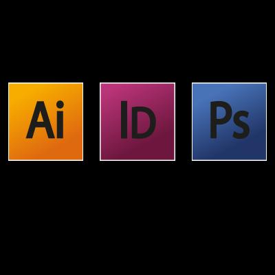 Adobe Creative Suite 4 logo vector