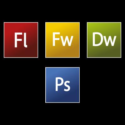 Adobe CS3 Web Premium logo vector