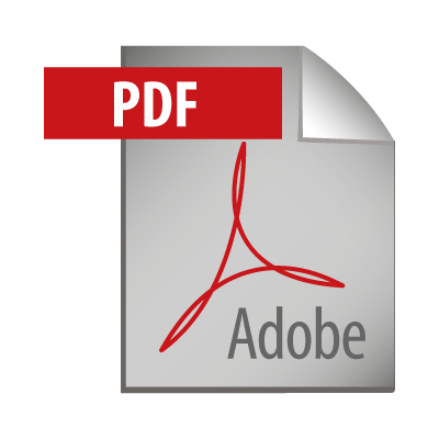 Adobe PDF Icon logo vector