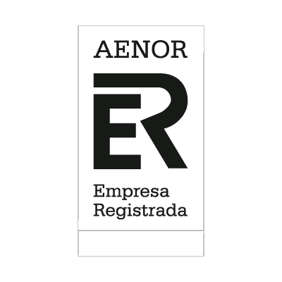 Aenor Black logo vector