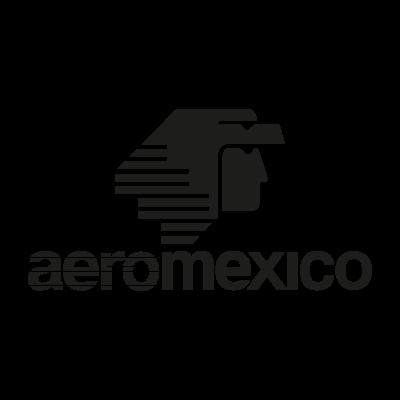 AeroMexico Black logo vector