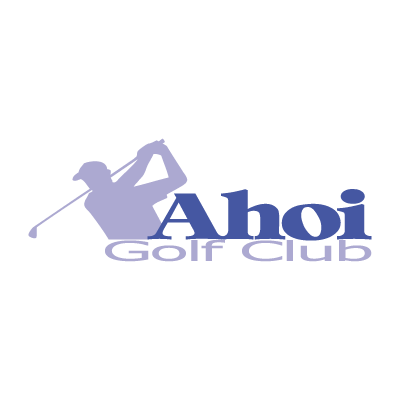 Ahoi Golf Club vector logo