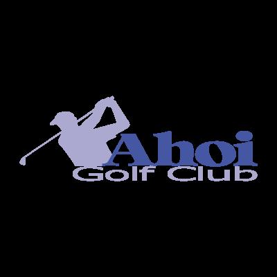 Ahoi Golf Club vector logo