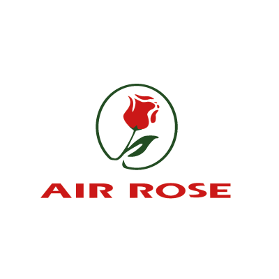 Air Rose vector logo