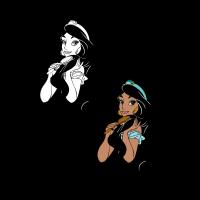 Aladdin - Jazmin vector