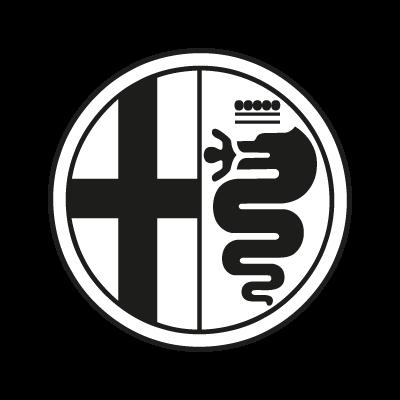 Alfa Romeo Black logo vector
