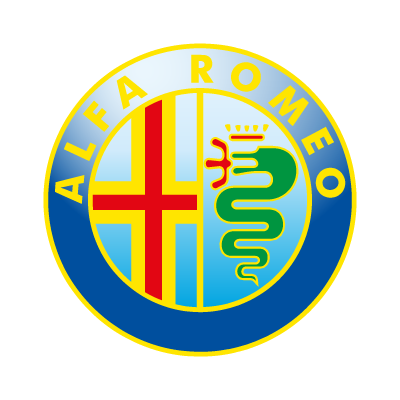 Alfa Romeo Car logo vector