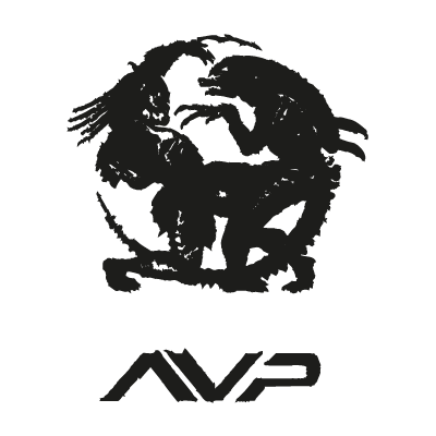 Alien vs predator logo vector