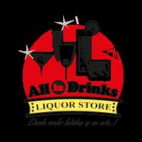 All in Drinks vector logo