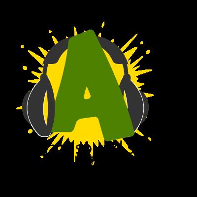 Alpha 1 Sound logo vector