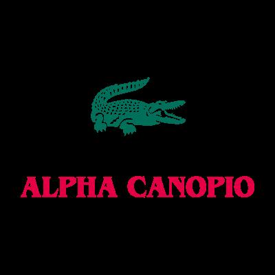 Alpha lacoste logo vector