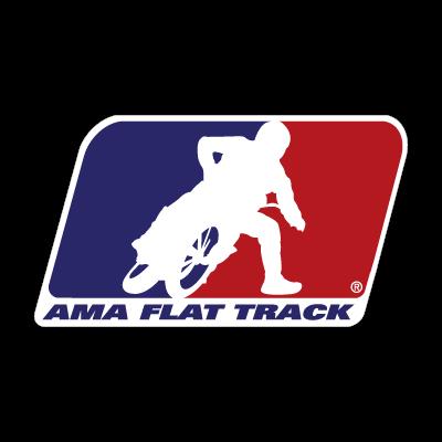 AMA Flat Track logo vector