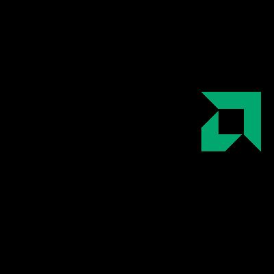 AMD Black logo vector
