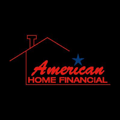 American Home Financial logo vector