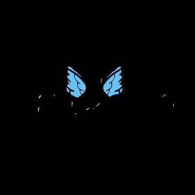 Angels logo vector
