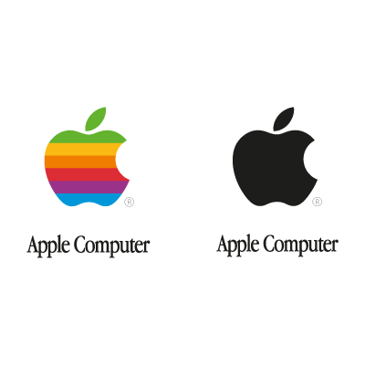 Apple Computer logo vector