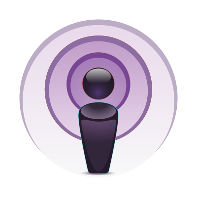 Apple Podcast logo vector