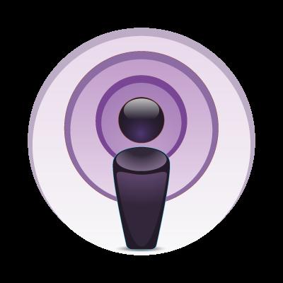 Apple Podcast vector logo