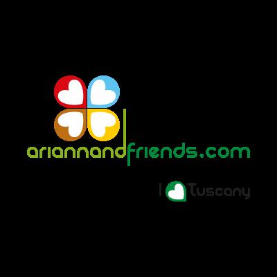 Arianna&Friends vector logo
